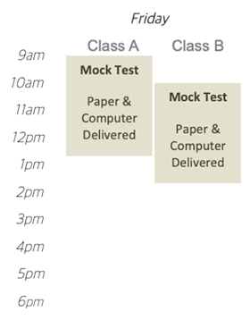 IELTS Herald Vancouver fulltime timetable Friday